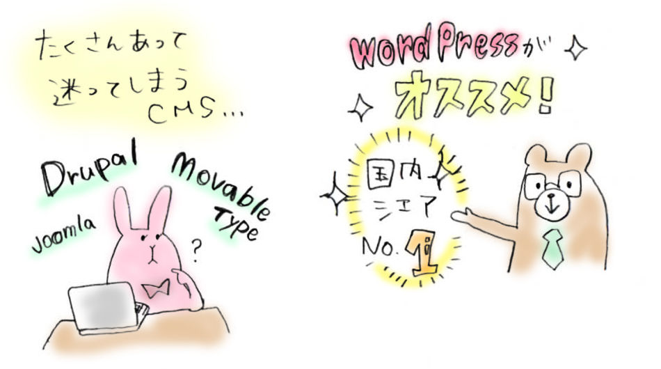 WordPressをつかう理由02ーWordPressのメリットは?