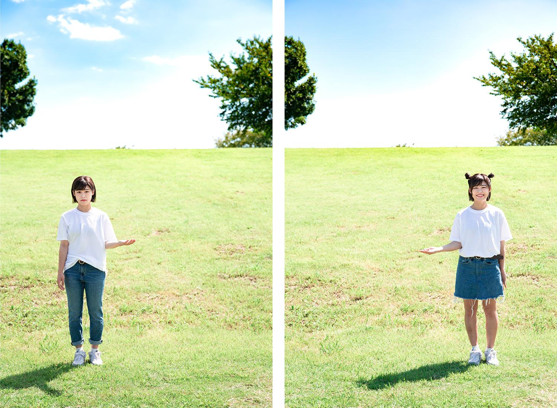 フリーペーパー「noma」vol.04 表紙撮影
