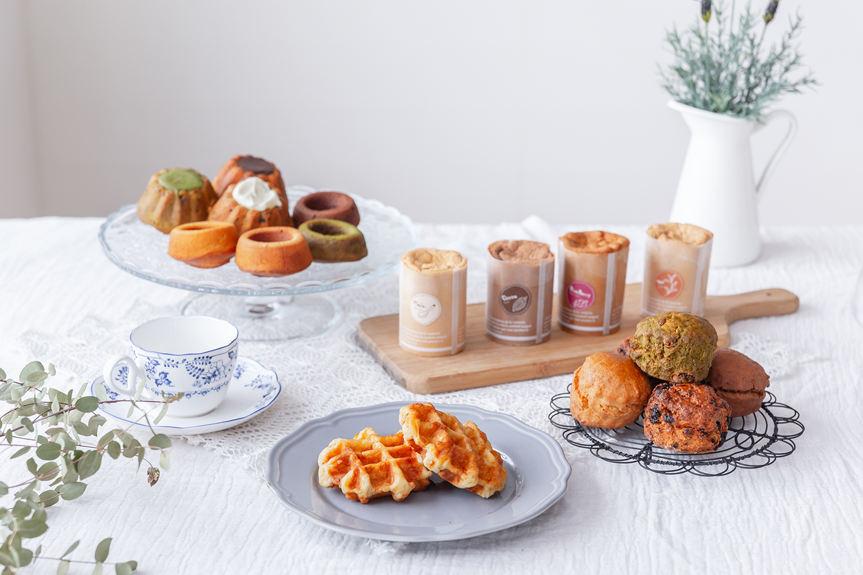 パン・焼き菓子販売店のホームページ用撮影
