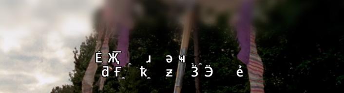 hulu文字化け