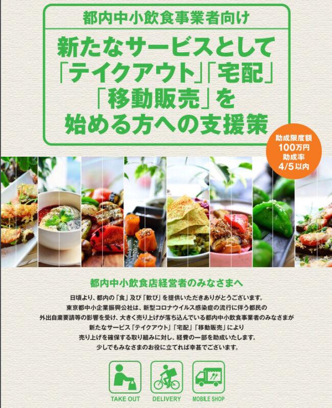 業態転換支援(新型コロナウイルス感染症緊急対策)事業/東京都